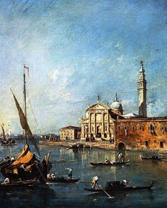 Santa Maria della Salute, Venice by Francesco Guardi